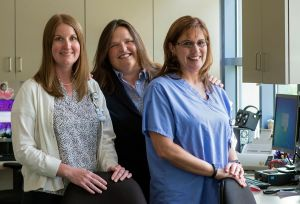 Michelle Helms, MD; Holly Michaelson,, MD, FACS; Casey Fowler, APRN - Cooley Dickinson General Surgical Care
