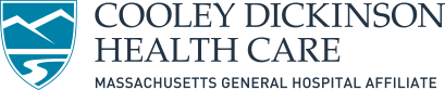 Mobile logo, Cooley Dickinson Health Care system, Northampton, MA 01060.