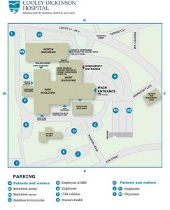 Campus/Parking Map 2016