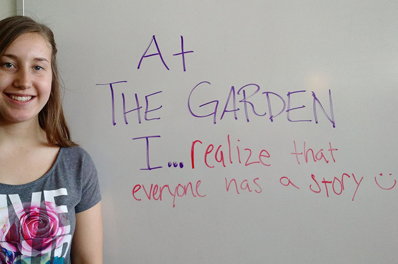The Garden - For children and teens who have lost a parent.