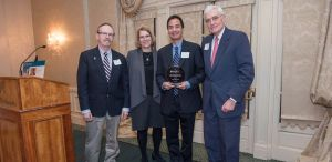 Wayne Hioe, MD, receives the Physician Excellence Award