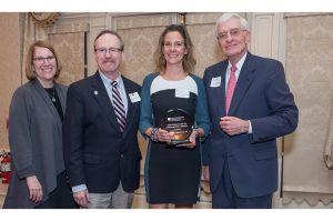 Jennifer Lesperance, NP, receives the Advanced Practice Clinician Award
