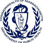 Logo for Massachusetts Department of Public Health.