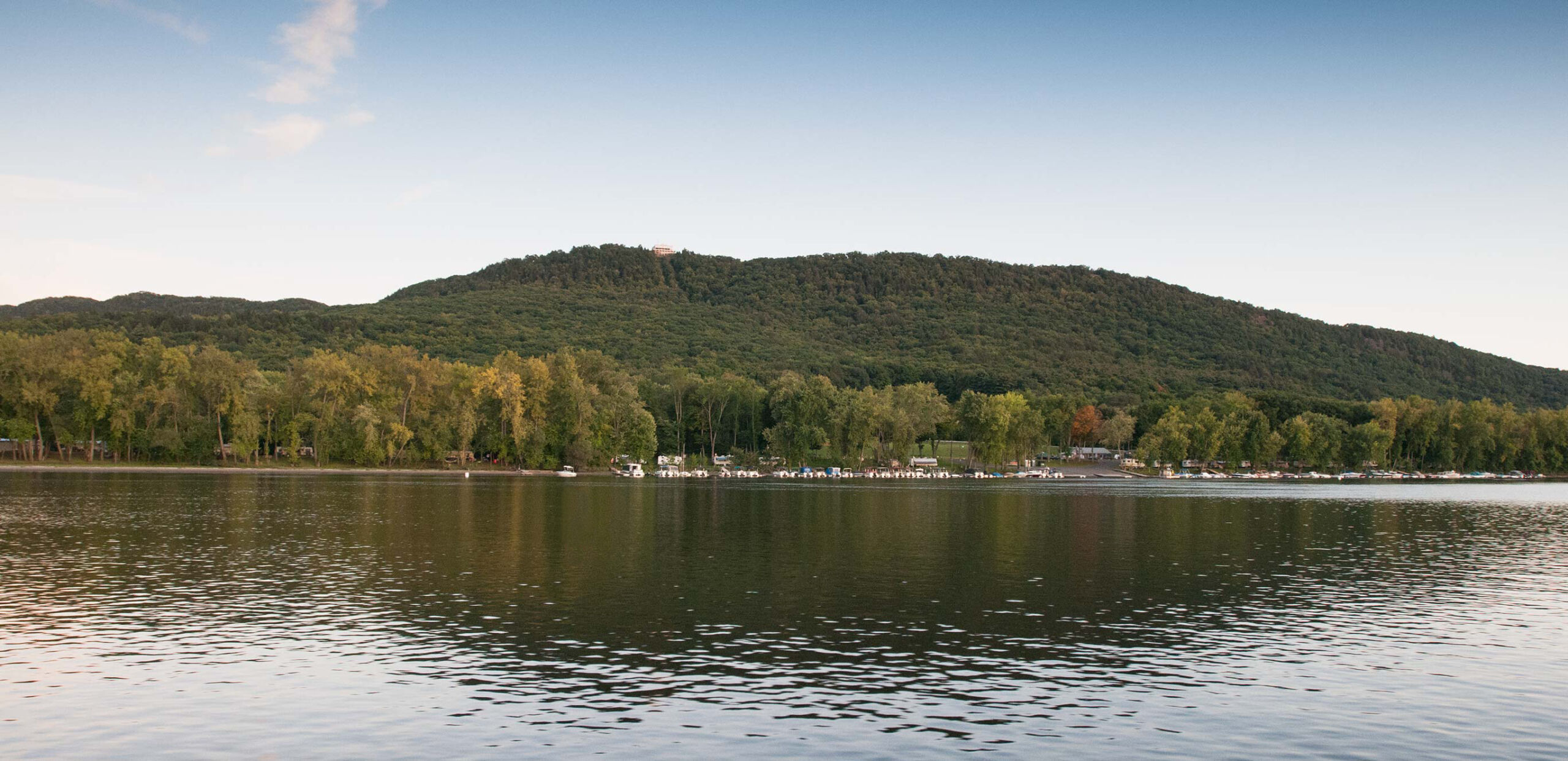 Connecticut River with view of Mount Holyoke.