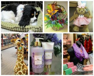 A variety of items for sale in our gift shop, Cooley Dickinson Hospital, 30 Locust Street, Northampton, MA 01060.