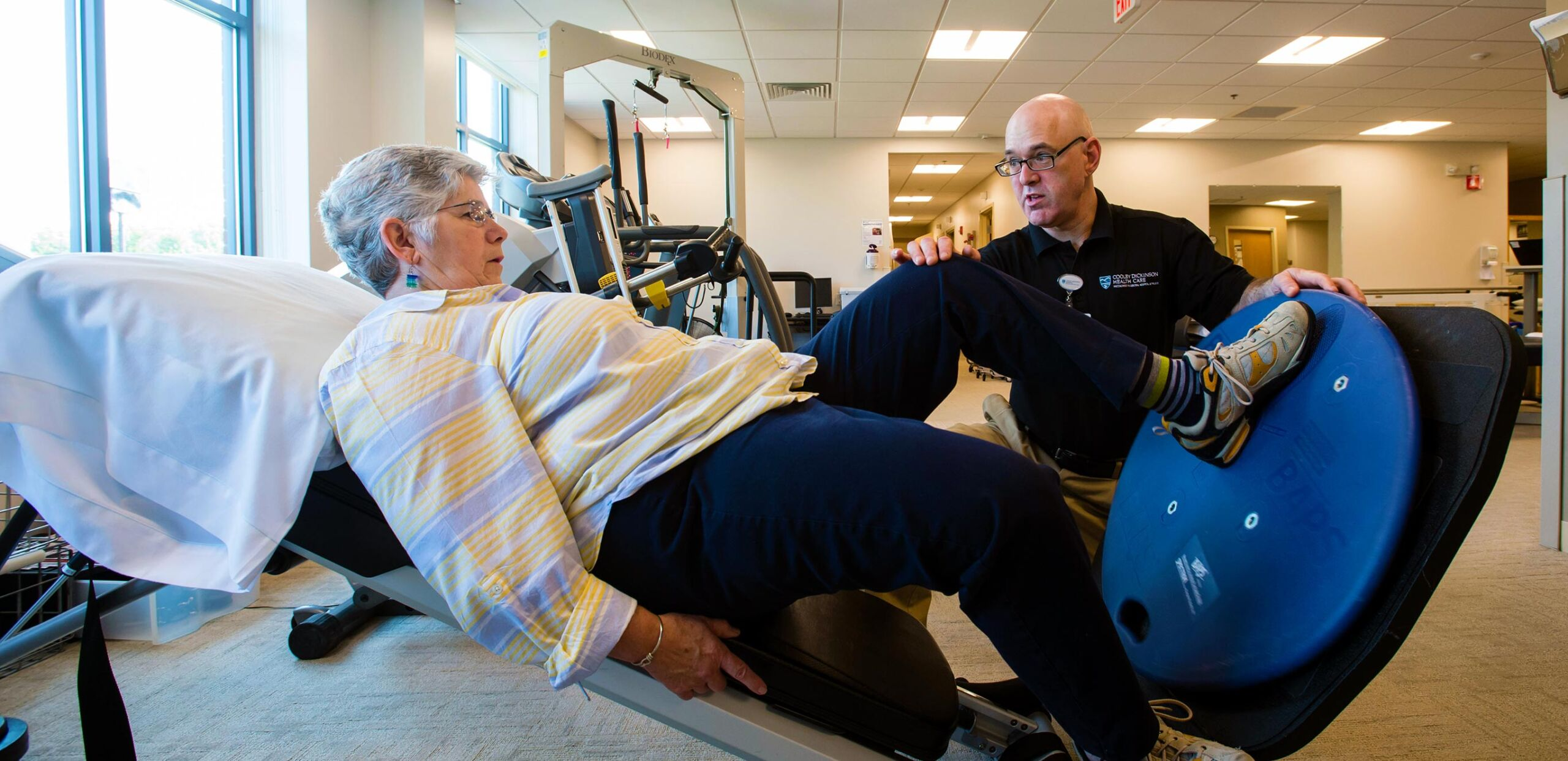 Physical Therapy at Cooley Dickinson Rehabilitation Services in Northampton, MA