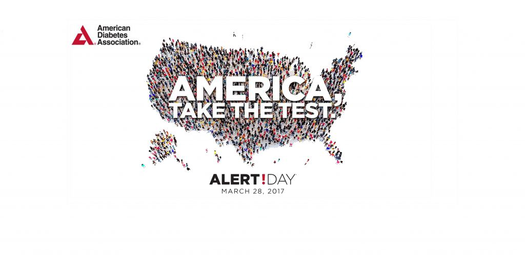 march 28 is american diabetes association alert day