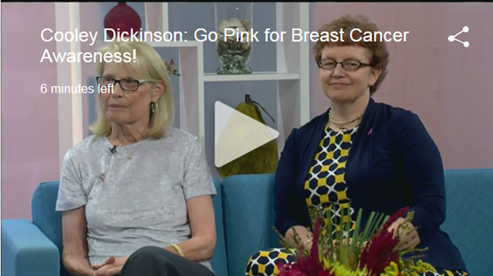 Cooley Dickinson Breast Center on WWLP Channel 22's MassAppeal