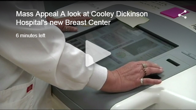 Tour the new Breast Center with WWLP TV22's Mass Appeal
