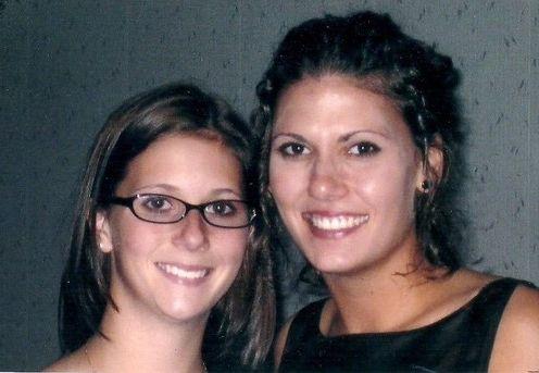 Megan Biela (Left) with her sister Kerri