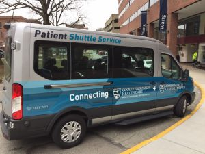 Advancing Care Together: Shuttle Gives Patients a Lift